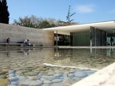 Pavillon allemand de Mies van der Rohe à Barcelone expo 1929